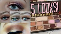 5 Looks ft. Too Faced Chocolate Bar Palette ♡ Tobie Jean