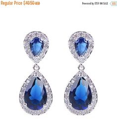 mnefel Clearine Crystal Drop Pendant Earring for Women's Wedding Bridal i8MW0