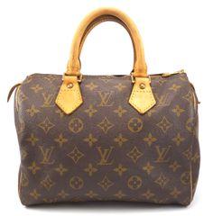 Louis Vuitton Authentic Monogram Speedy 25 Hand Bag    eBay