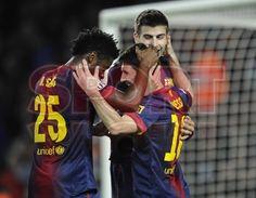 Messi & Song, FC Barcelona | BARÇA, 3 - ZARAGOZA, 1. 17.11.12