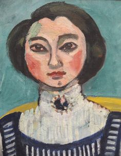 Henri Matisse , Filette aux chat noir ( Marguerite ) 1910