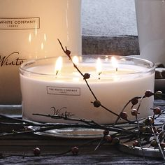 Winter Large Candle | The White Company