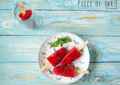 STRAWBERRY SORBET ICE CREAM by food stylist Anna Moloney