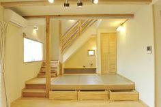 自然派住宅konomi in 2020 Tiny Living, Living Spaces, Loft Design, House Design, Caravan Renovation, Japanese Interior Design, Kitchen Upgrades, Home Reno, Architect Design