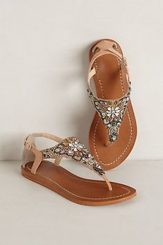 Desert Lily Sandals - anthropologie.com » Oh these are perfect for the wedding I'm in this July.
