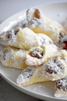 Fashion and Lifestyle Bosnian Recipes, Croatian Recipes, Bakery Recipes, Cookie Recipes, Dessert Recipes, Kiflice Recipe, Croatian Cuisine, Macedonian Food, Snacks