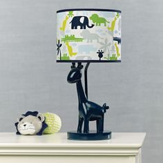 Safari Sky Lamp And Shade Nursery Collections So Cute To Use These