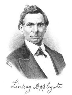 Lindsay Applegate, of which the Applegate Valley is named after. He blazed an alternative end to the Oregon trail and served as an Oregon House of Reps for Jackson County in 1862.