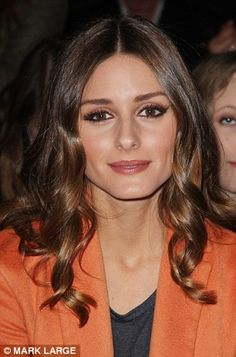 American socialite Olivia Palermo dons a dusky rose tint as adored by Parisians