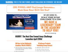 ClickFunnels Affiliate Guide: Make Money with Share Funnels 30 Day Challenge, Online Marketing, How To Make Money, Product Launch, Challenges, Learning, Create, Challenge 30 Days, Studying