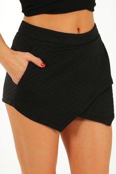 Come Home Shorts: Black  #shophopes