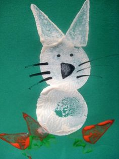 rabbit craft by Cathy @ Nurturestore.co.uk, via Flickr