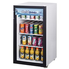 Small Countertop Refrigerator Glass Door