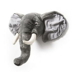 WILD & SOFT - Tierkopf Elefant George
