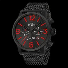 TW STEEL SON OF TIME TEMPUS FURY 48MM CHRONO SPECIAL EDITION WATCH