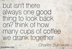 One good thing  #coffee @coffee_and_bean