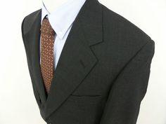 NWT $279 PALM BEACH Men's SportCoat Blazer Jacket Windowpane 44 R Regular #PalmBeach #TwoButton