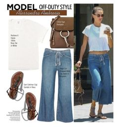 """""""Alessandra Ambrosio Los Angeles July 22 2017"""" by swweetalexutza ❤ liked on Polyvore featuring Abercrombie & Fitch, AlessandraAmbrosio and modeloffduty"""