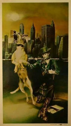 Diamond Dogs--this picture is scary (to me for some odd reason) but cool as hell! Lol