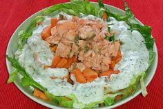 Con este calor, una ensalada fresquita y saludable #recetas #wellness