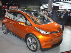 The 11 Coolest Cars From the Detroit Auto Show | The Chevy Bolt is a concept, yes, but a preview of a battery electricproduction car that GM CEO Mary Barra says will deliver more than 200 miles of range for a base price around $30,000 (after the obligatory $7,500 federal tax credit).   Newspress USA  | WIRED.com