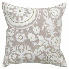 Accent pillows | Softly Patterned - Rugs, Pillows & Accents in Neutral Hues on Joss and ...