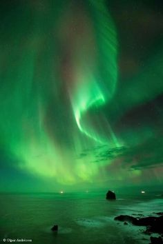 Iceland. Northern lights