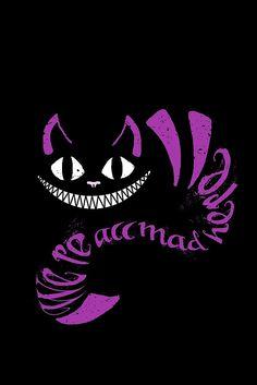 Je décidai que je voulais voir le chat de Cheshire sur un T-shirt noir ou à capuche, alors j'ai commencé à jouer avec des couleurs et ce fut le résultat! Il y aura certainement des photos sur mon Facebook de moi dans ce! • Buy this artwork on apparel, stickers, phone cases et more.