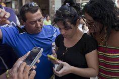 Los usadores de Nauta en Cuba usan para texto y Facebook. El uso del Nauta es muy raro porque es my caro.