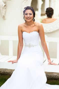 Bride Lize In Her Taleigha Dress By Maggie Sottero Ever After Real Brides Pinterest Dresseaggie