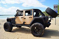 Baja Dune Running Jeep
