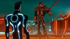 Made with a mixture of animation, courtesy of Toon Boom Animation's Harmony software, and CG graphics the series is set in the computer world between the events taking place in TRON. Storyboard Pro, Tron Uprising, 2048x1152 Wallpapers, Tron Legacy, Elijah Wood, Disney Shows, Epic Games, Sci Fi Fantasy, We Need