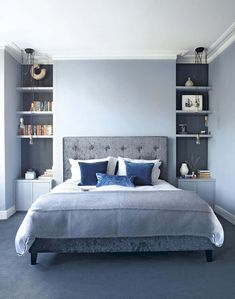 Blue Bedroom Ideas For Couples Future Home Small Room Bedroom throughout sizing 806 X 1024 Light Blue Bedroom Decor - If you are looking to modernize a Blue Master Bedroom, Blue Bedroom Walls, Blue Bedroom Decor, Woman Bedroom, Small Room Bedroom, Bedroom Carpet, Modern Bedroom, Blue Bedrooms, Small Rooms