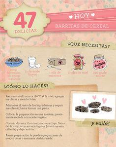 Receta Barritas de Cereal