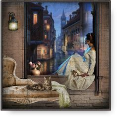 Through A Window by debraelizabeth Angel Pictures, Old Pictures, Victorian Art, Old Art, Heart Art, Types Of Art, Beautiful Paintings, Collage Art, Ramen
