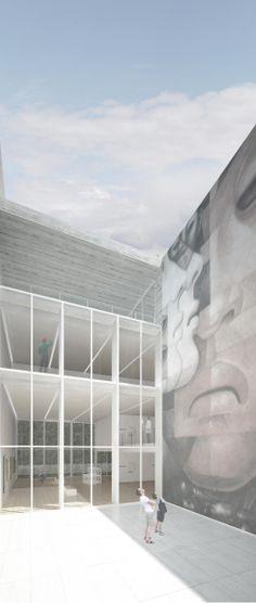 Primer Lugar Concurso de Ideas Museo Mario Toral: Albert Tidy Arquitectos