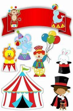 Birthday box card pop up 54 Ideas Clown Party, Circus Theme Party, Party Themes, Birthday Box, Circus Birthday, Birthday Parties, Party Printables, Free Printables, Micro Creche