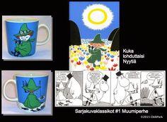 ChiliParkin Taimitarha: Muumimukit 21 - 30 Lassi, Mugs, Tableware, Dinnerware, Cups, Mug, Dishes
