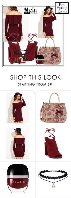 """""""Spring Looks!!"""" by jckallan ❤ liked on Polyvore featuring GUESS, Kenneth Cole, Marc Jacobs, Betsey Johnson and H&M"""