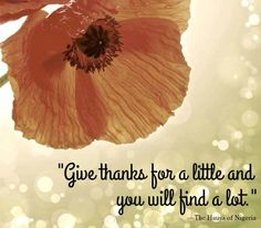 This is what gratitude is all about. | Fit Bottomed Girls