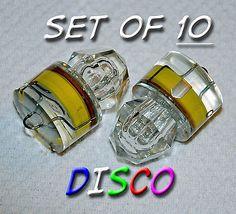 Set 10 Diamond LED DISCO lights, deep drop swordfish fishing Squid USA free ship