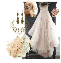 """""""Victorian Wedding"""" by sharonbeach ❤ liked on Polyvore"""