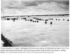 Bundesarchive Photos 1933 - all fields of WWII - Page 582 4th Infantry Division, June 6th, D Day, Coast Guard, Troops, Trauma, Ww2, World War, Landing