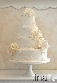 Unbelievable wedding cake trends | Pin Lace Wedding Cake By Just Cake on Pinterest