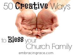 creativewaystoblesschurchfamily