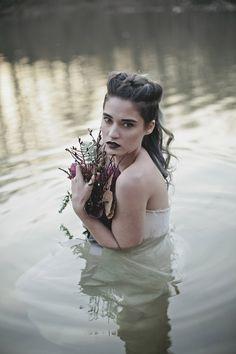 Lady in the Lake Bridal Shoot · Rock n Roll Bride