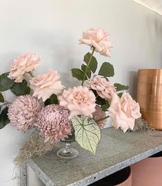 Table Arrangements, Bridesmaid Dresses, Wedding Dresses, Flower Centerpieces, Paper Flowers, Wedding Events, Glass Vase, Floral Wreath, Hair Makeup