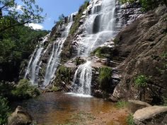 Cachoeira de Cocais, em Barão de Cocais, MG.