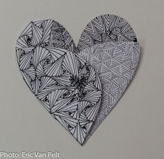 Zentangle Valentines with Jennifer Van Pelt