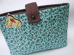 Refil de bolsa - parte da frente by Atelier VITA COLORITA, via Flickr
